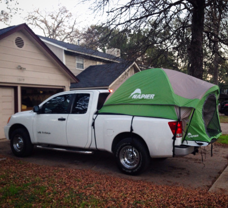 Bobby has a fancier tent with a canopy for ex&le and there is a lite version of the heavy duty mattress that I have. Cost wise my set-up is probably ... & The Full Story on the Truck Tent