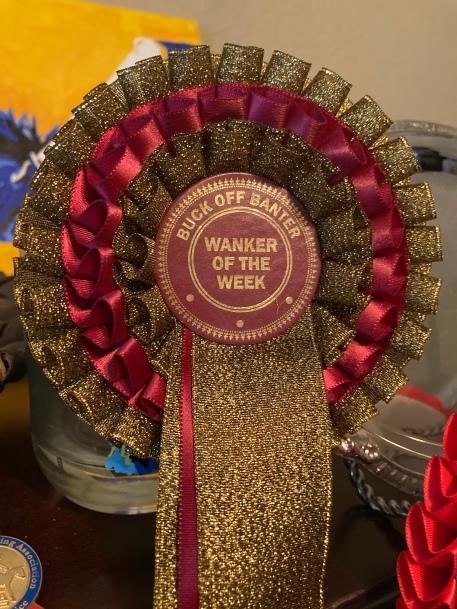Wanker da semana 1