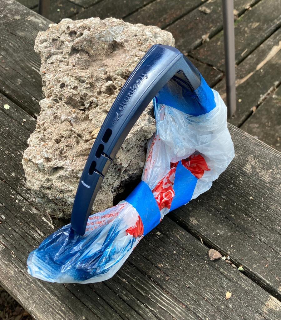 Reforma de estribo DIY (em caso de dúvida, basta adicionar glitter) 5